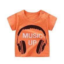 Новинка; летняя одежда для мальчиков; Детские футболки; коллекция года; брендовая футболка; хлопковые топы; одежда для детей; футболки для маленьких мальчиков с изображением животных