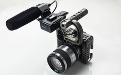 Movcam DSLR A7S Baseplate Cage With Top Handle +HDMI Cable For Sony A7S Camera Black Editon