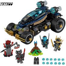Juguetes de bloques de construcción de película Ninjagoe de 458 piezas compatibles con Legoinglys Samurai VXL regalos compatibles con 70625