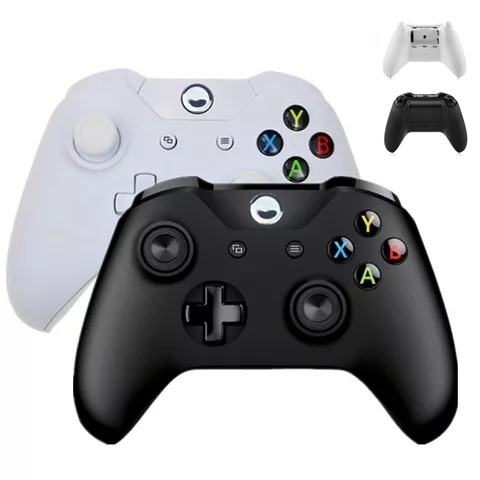 2.4G Wireless Game Controller Remote Gamepad Dual Motor Vibration for Xbox One Slim X Console Win 7/8/10 PC Video Mando Joystick image