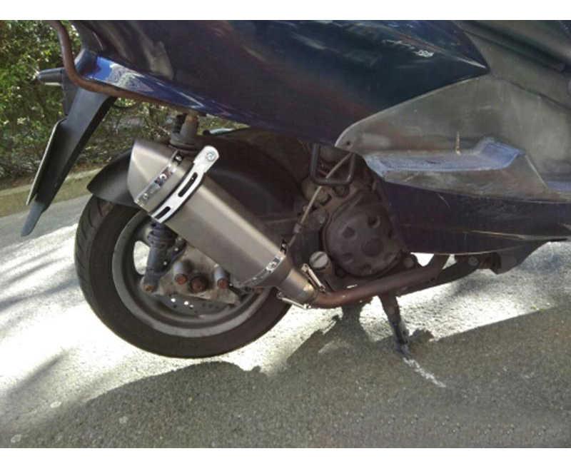 Universele Motorcycle Dirt Bike Uitlaat Escape Gewijzigd Scooter Uitlaat Moffel Geschikt Voor De Meeste Motorfiets Atv CB600 R3 R6 FZ6