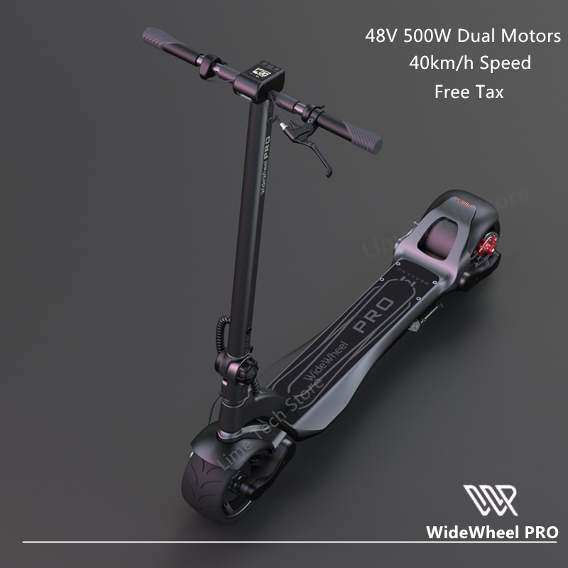 Original 2020 Newest Mercane WideWheel Pro Kickscooter 48V 1000W 40Km/h Smart Electric Scooter Dual Motor Disc Brake Hoverboard