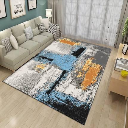 Tapis salon Table basse, robe de luxe, quatre saisons, chambre en laine fine, chambre de chevet, tapis de tapis, Style nordique moderne