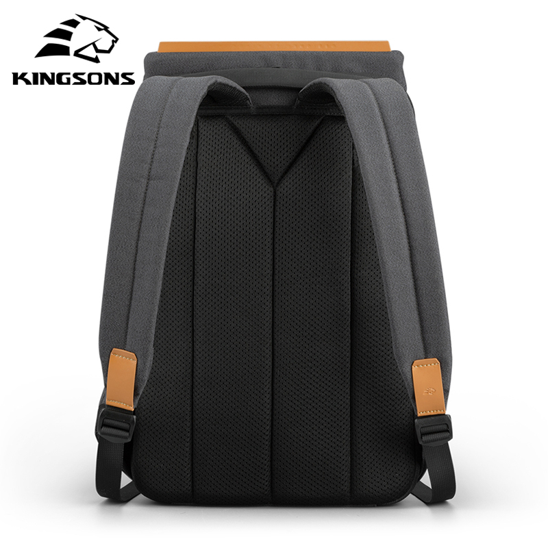 Kingsons 2020 new waterproof backpacks USB charging school bag anti-theft men and women backpack for laptop travelling mochila 2