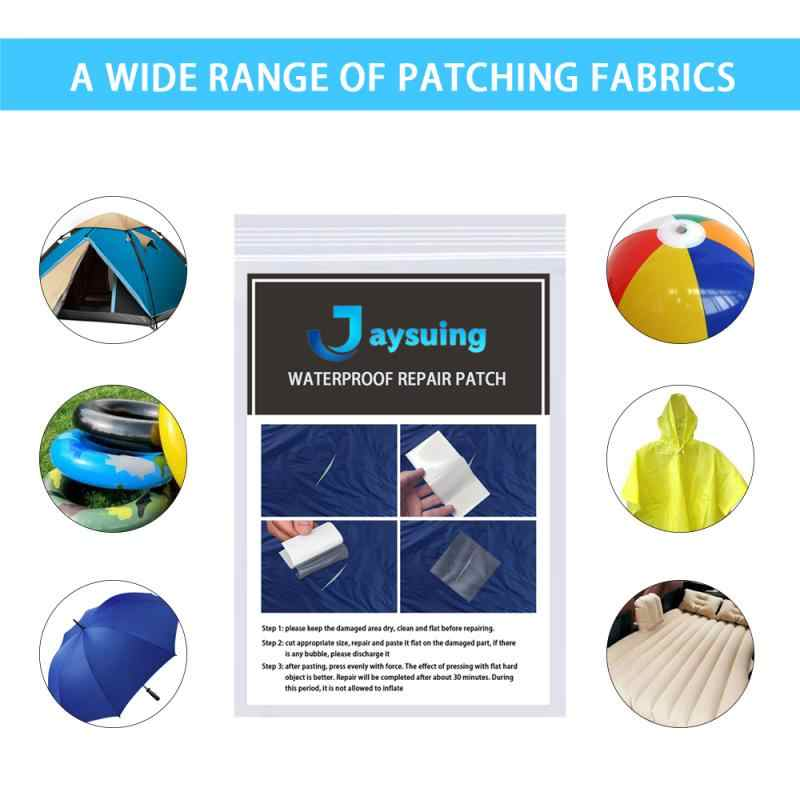 2X Waterproof Sticker Cloth Down Jacket Patch Outdoor Tent Repair Tape Pat HL