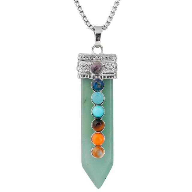 Женское и мужское ожерелье из искусственного камня