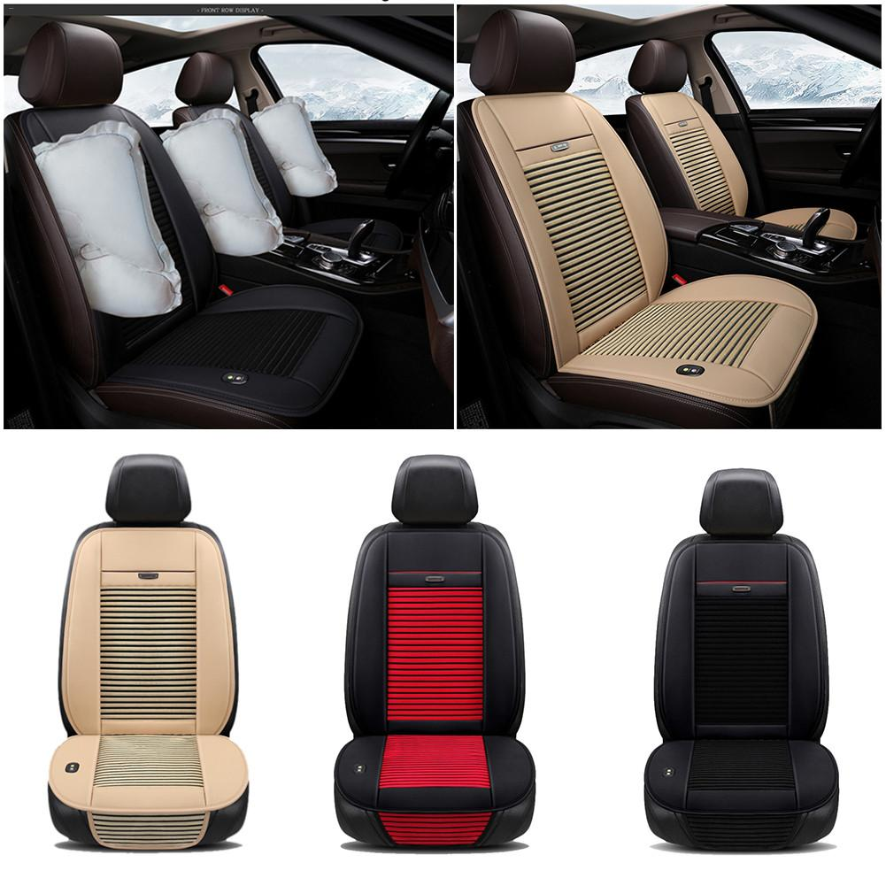 Universal 12V 12 14W Car Seat Cooling Pad Summer Car Ventilation Cushion Cold Air Cushion Air Conditioning Refrigeration Cushion|Automobiles Seat Covers| |  - title=