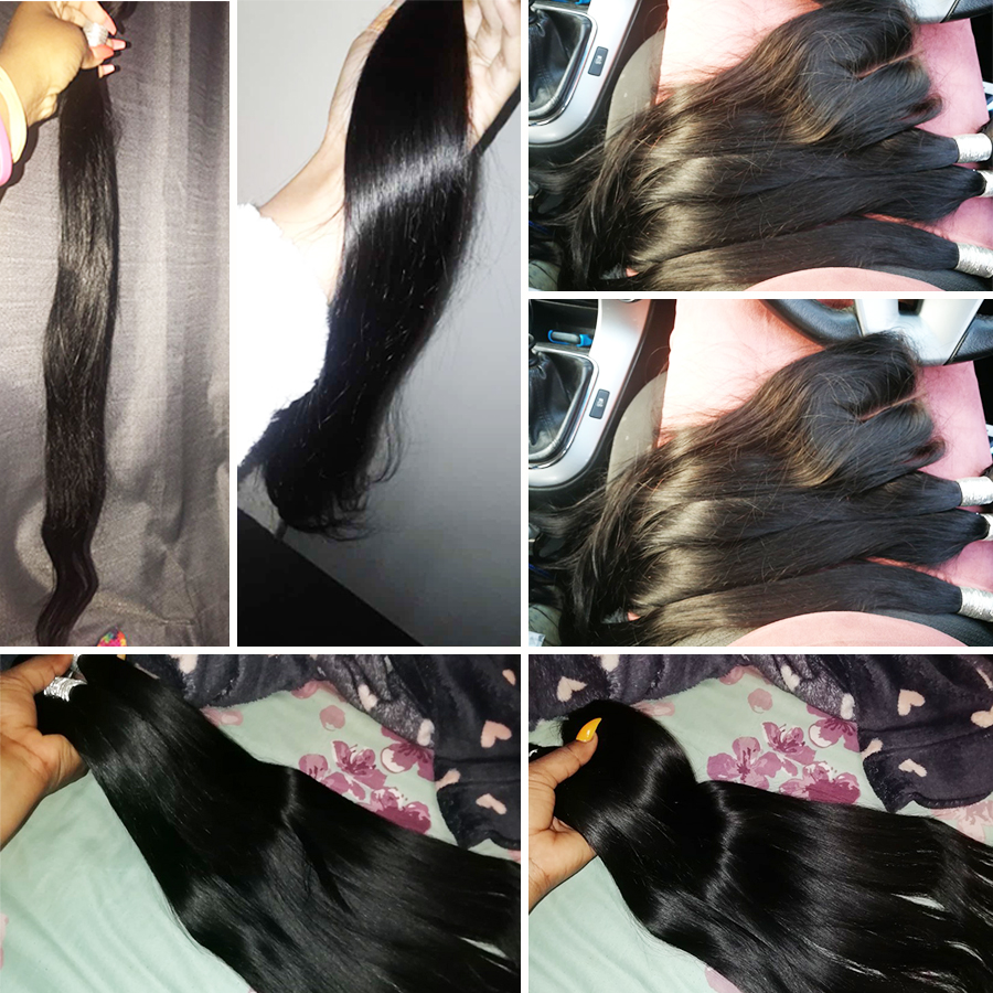 H92753e6a07274c1ea5c5abc64a6218e0H Alipop Hair Straight Hair Bundles With Closure Peruvian Hair 3 Bundles With Closure Remy 100% Human Hair Bundles With Closure