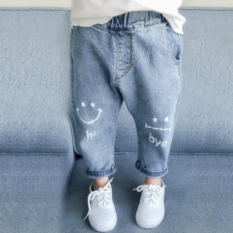 Весенние джинсы для маленьких девочек, детская одежда, хлопковые свободные удобные длинные джинсовые брюки, повседневные джинсы с эластичным поясом для девочек, одежда для девочек, одежда для детей, повседневная одежда, джинсы для девочек, джинсы для девочек, повседневная одежда для детей|Джинсы| | АлиЭкспресс