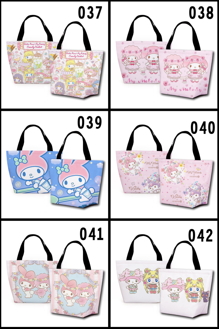 personalizado sacos de almoço dos desenhos animados