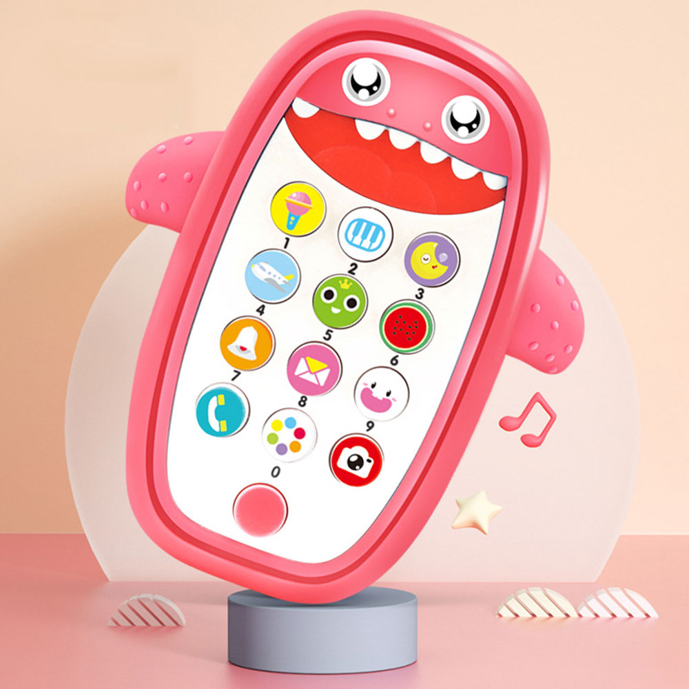 Baby Simulation TV Remote Control Mobile Phone Toy Kids Educational Music Learning Toy Children Gifts 6-12-24-36 Months