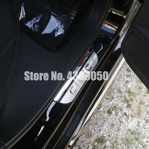 Stainless steel Door Sill Scuff Plate Cover For Honda Civic 10th 2016 -2019 Car Sticker Styling Trim Guard Protector Door Sills