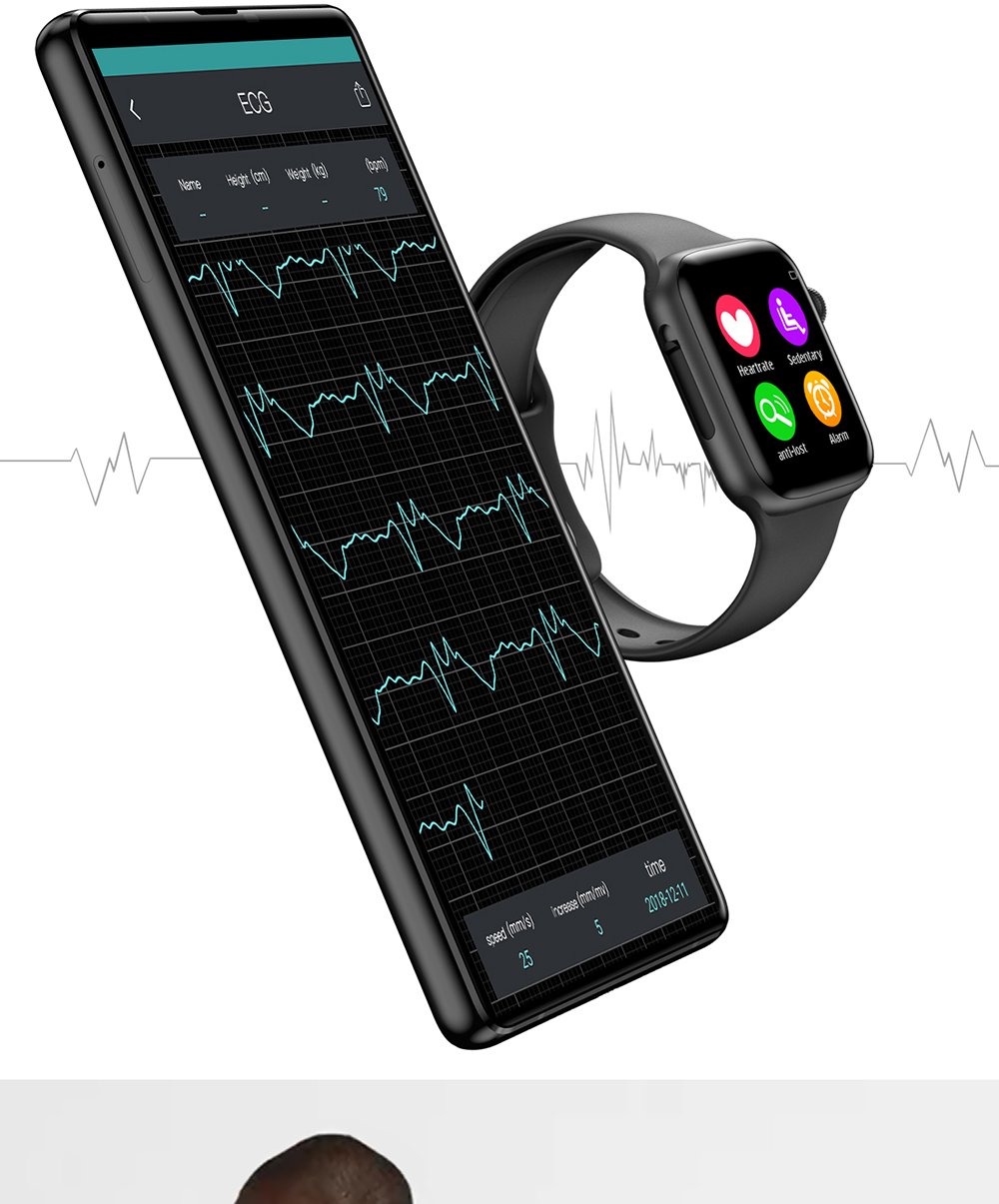 Heart Rate iwo 9 smartwatch for women/men
