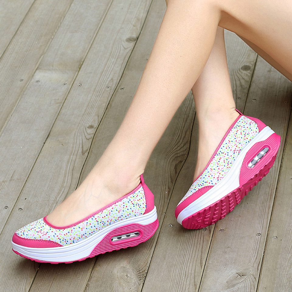 Ngouxm Women Flat Casual Shallow Shoes