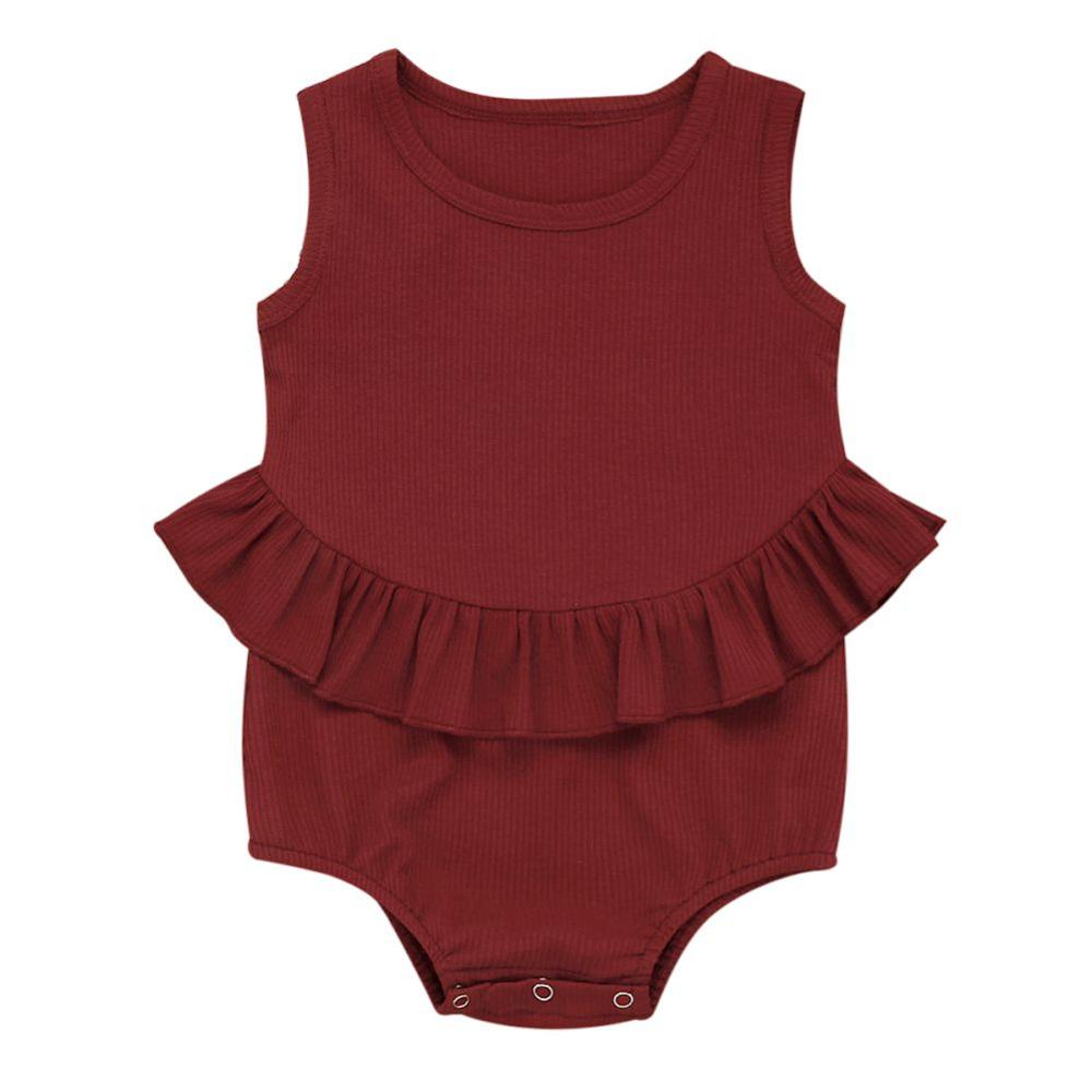 Summer Baby Girl Romper Spring Princess Newborn Baby Clothes For 0-2Y Girls Boys Sleeveless Jumpsuit Kids Baby Outfits Clothes
