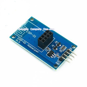 Image 3 - 1PCS ESP8266 ESP 01 סידורי WiFi אלחוטי מתאם מודול 3.3V 5V Esp01 הבריחה PCB מתאמים