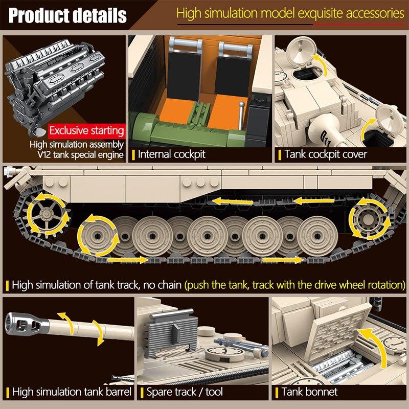 blocos de construcao tanque militar exercito soldado 02