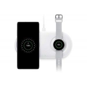 Image 2 - 25 ワット Wirless 充電器デュオサムスン S10 プラス a50 A70 ギア S2 S3 腕時計高速充電チーワイヤレス充電器、充電器 Inalambrico