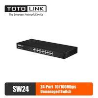 TOTOLINK SW24 Ethernet Switch Lan Hub 24 port Fast Gigabit Network Switch Duplex Exchange