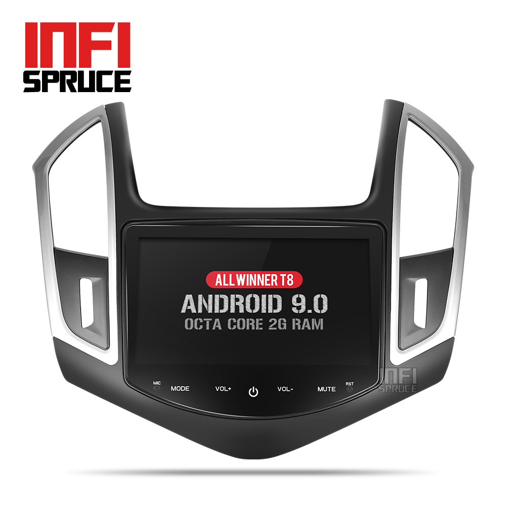 Gps-Player Navigation Mirror Link Radio Gps Steering-Wheel Car Dvd Chevrolet Cruze Android 9.0