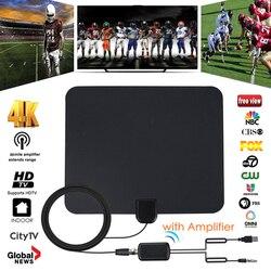 Indoor Digital TV Receiving Antenna HDTV Antena TV Aerial TV Surf 28 DBI Gain Antenna Tv Digital Seen on Tv