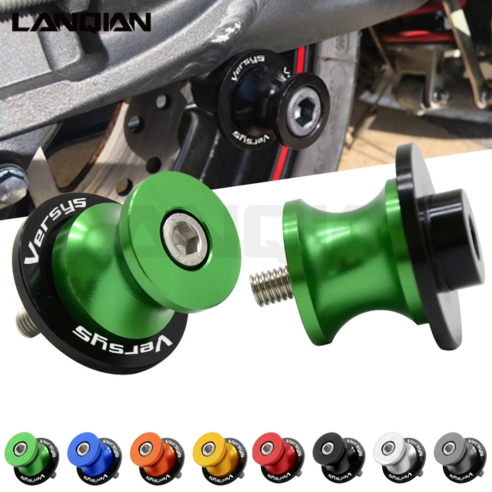For Kawasaki Versys 650 1000 Motorcycle 10MM Swingarm Spools Slider Versys 1000 2012-2015 Versys650 2007-2014 CNC Accessories