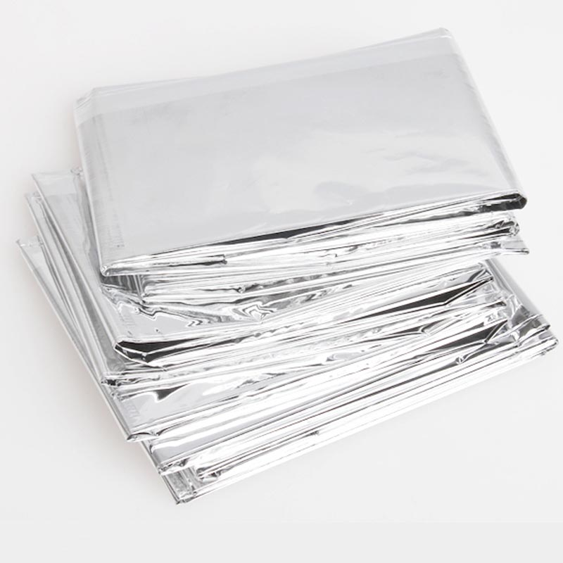 Portable Waterproof Emergency Space Rescue Thermal Mylar Blankets 1.4m X 2.1m JLRL88