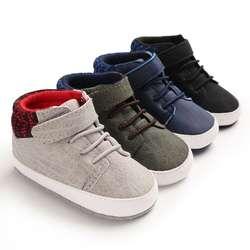 Сезон осень-зима; модные детские кроссовки для мальчиков; Повседневная нескользящая обувь в стиле пэчворк с мягкой подошвой; удобная обувь