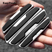 For Volkswagen vw Tiguan MK2 2017 2018 Car Door Protector Side Edge Scrape Strips Guard Sticker Auto Scratch Protection Tape car tempered glass screen protective film sticker gps multimedia lcd guard for vw volkswagen 2017 2018 tiguan mk2 accessories