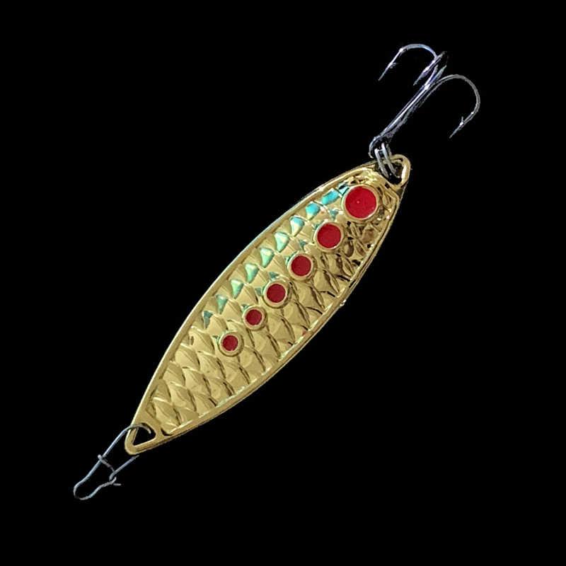 1 Buah Logam Spinner Sendok Trout Memancing Umpan Umpan Keras Payet Kebisingan Paillette Umpan Buatan Kecil Keras Payet Spinner