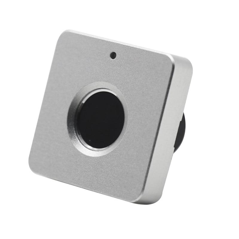 Smart Drawer Fingerprint Lock Alloy Intelligent Electronic Lock Anti Theft Safety Lock for Storage Cabinet Wardrobe DeskElectric Lock   -