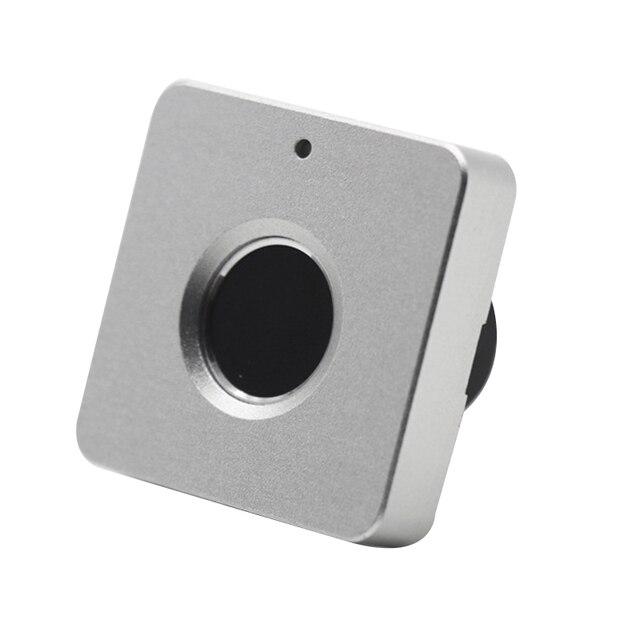 Smart Lade Vingerafdruk Slot Legering Intelligente Elektronische Lock Anti Diefstal Veiligheidsslot Voor Opslag Kast Bureau
