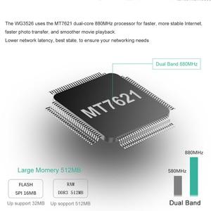 Image 2 - موزع إنترنت واي فاي قوي للغاية مع مودم الجيل الثالث 3G 4G مع فتحة للبطاقات Sim 1200Mbps Openwrt راوتر 802.11AC 4G Lte راوتر دعم PPTP L2TP