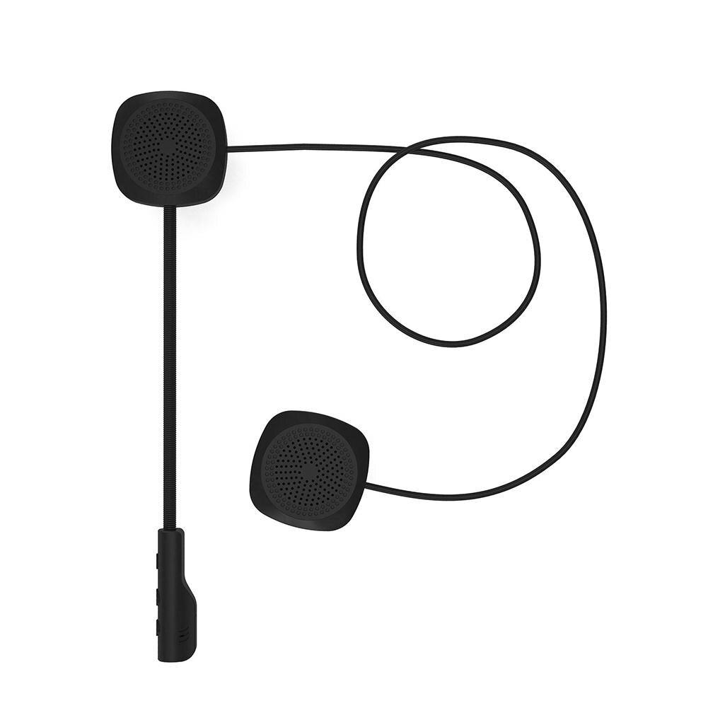 None Motorcycle Helmet Headset Bluetooth V5.0 EDR Headphones Microphone Bicycle Helmet Earphone Handsfree Speaker Headset