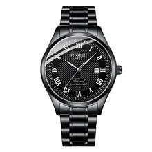 2019 New Luxury Brand Business Men Mechanical Watches Black Man Watch 5Bar Waterproof Full Steel Mens Watches Montre Homme