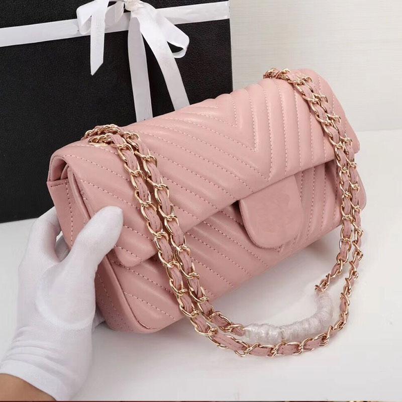 100% Genuine Leather Luxury Brand Women Bag Designer Handbag Brand Shoulder Bag V Chain Handbag Free Shipping|Shoulder Bags|   - AliExpress