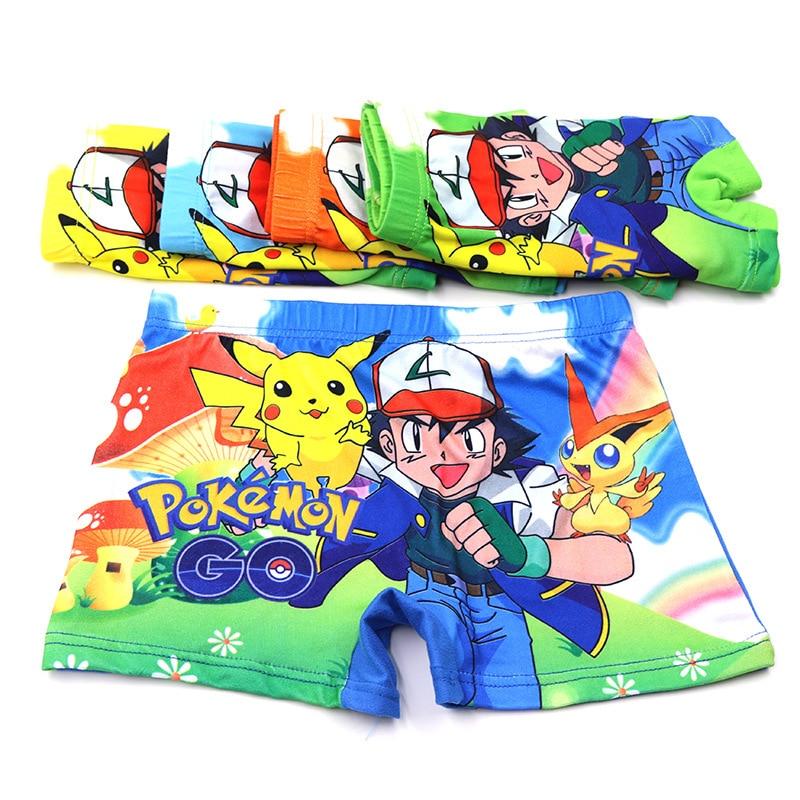 1 Pcs Boy Underwear Children's Cartoon Boxer Underwears Cotton Boy Panties Kids Short Briefs Kids Underwear Majtki Chlopiec