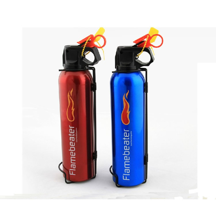 Genuine Product Mini Car Fire Extinguisher Household/qi Yong Dry Powder Car Fire Extinguisher ABC Annual Inspection Safe Supplie