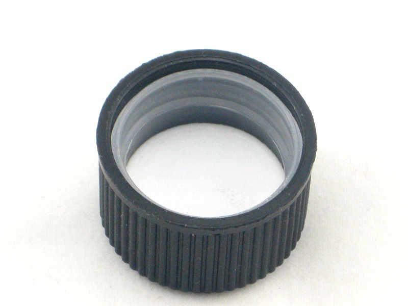 500ml พลาสติกขวด HDPE กระบอกรอบสีดำ/สีขาวเด็ก-หมวก