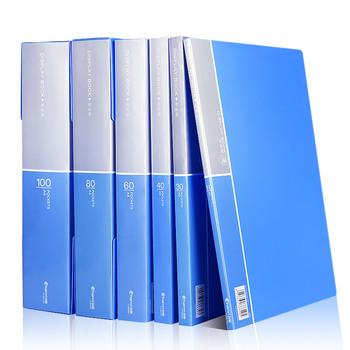 A4 Folder książce informacji spinacz do papieru Folder uczeń foldery torba wielowarstwowy przezroczysty Folder na dokumenty A4 materiały biurowe tanie i dobre opinie Torba na dokumenty Przypadku CY8610-1