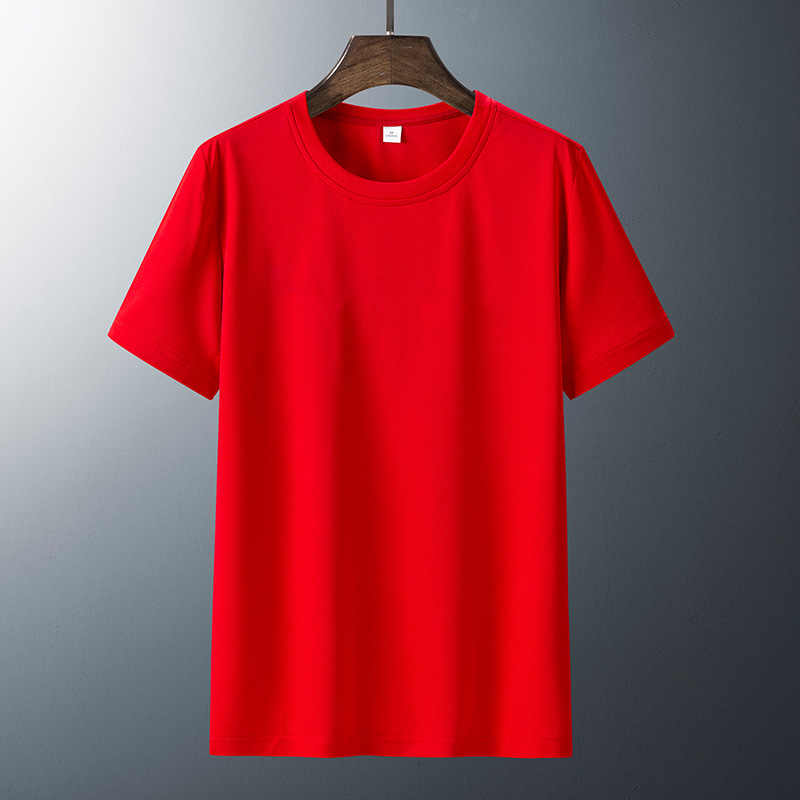Tシャツ男性6XL 7XL 8XLスポーツランニングスポーツフィットネス速乾性プラスサイズ無地黒tシャツ夏tシャツ通気性tシャツルーズ