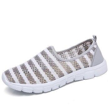 Nuevos zapatos de enfermera calados de encaje, zapatos informales de mujer lisos,...