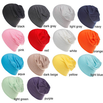 New Fashion Baby Street Dance Hip Hop Hat Spring Autumn Scarf for baby Knitted Cap Winter Warm Solid Color Children
