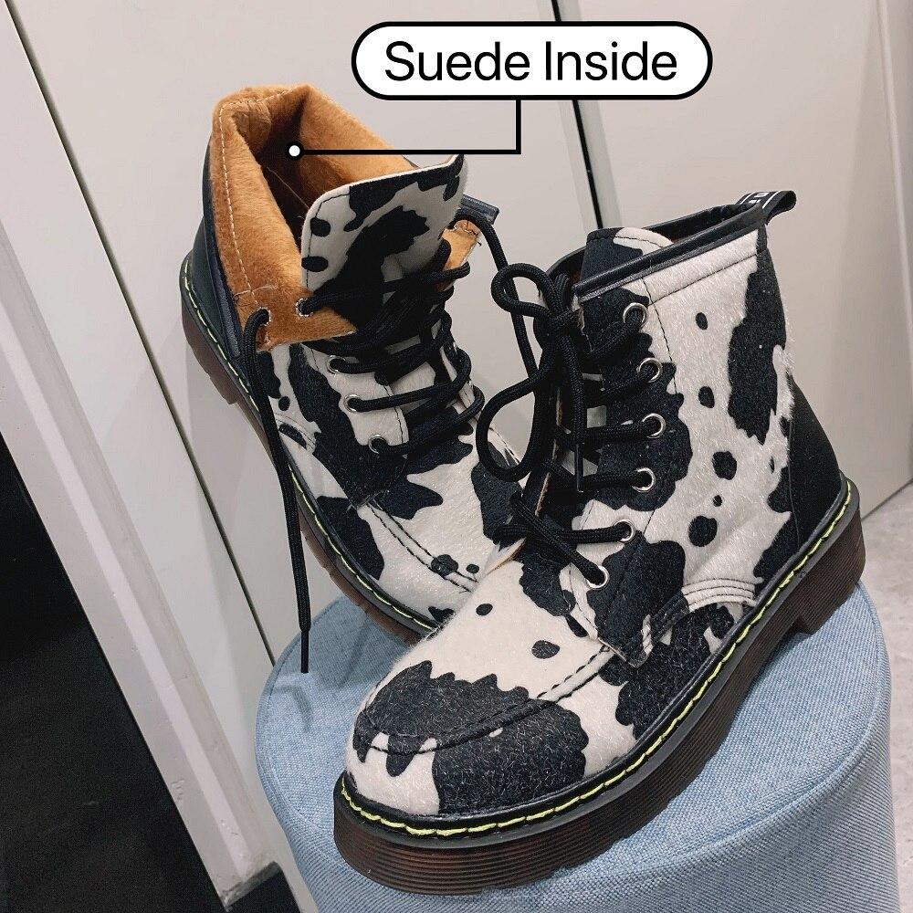 Internal suede