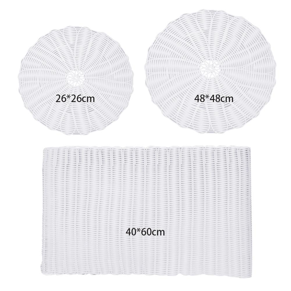 Steamer Mat Silicone Non-sticky Rattan Pad Kitchen Tools For Steam Buns Rolls Dumplings