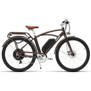 26 дюймов электрический велосипед для города Роскошный Ретро дизайн взрослый путешествия высокоскоростной городской электрический велоси...