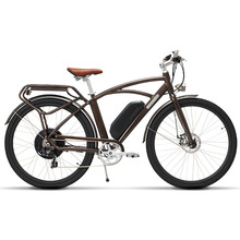 26inch electric city bicycle Luxury retro design Adult travel high speed city el