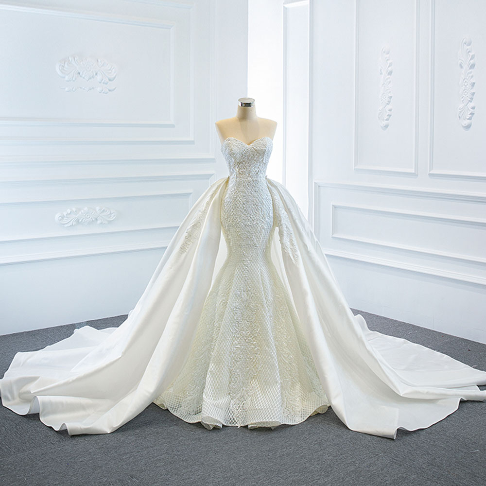 Brides Luxury Mermaid Wedding-Dresses