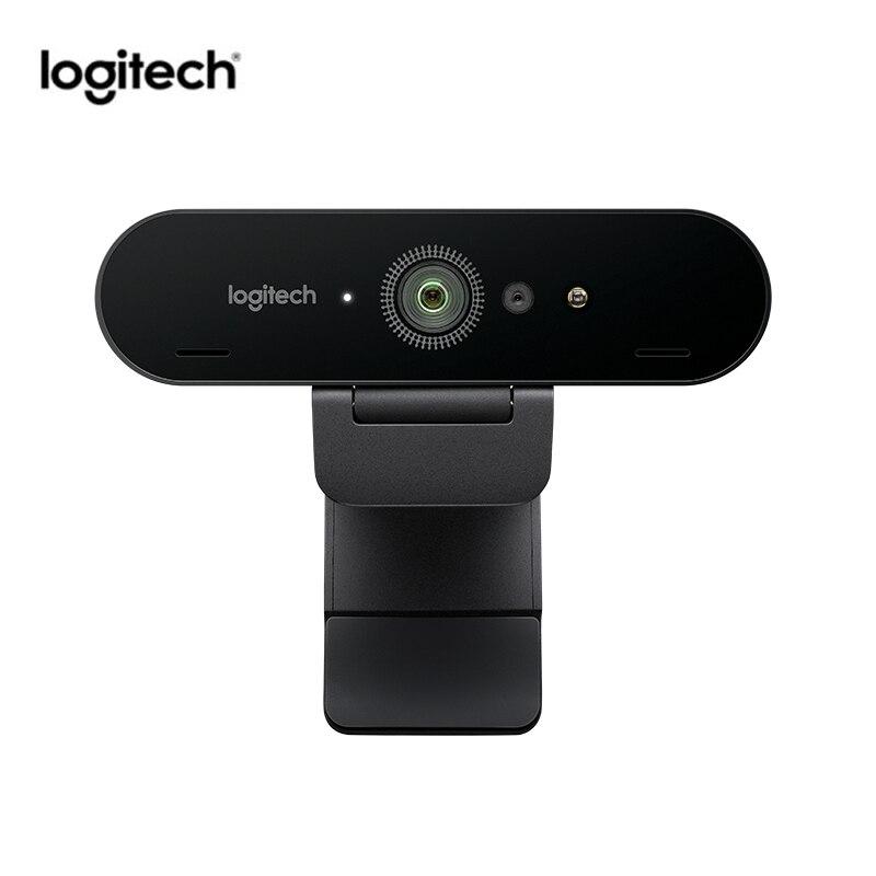 Logitech C1000e BRIO 4K Webcam Wide Angle Ultra HD 1080p Video Conferencing Camera With Micphone