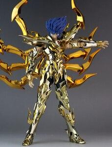 Image 2 - במלאי GreatToys EX סרטן Deathmask Saint Seiya מתכת שריון מיתוס בד זהב Ex פעולה איור